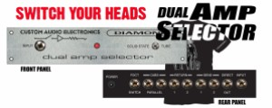 Dual Amp Selector Graphic 1